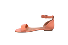Load image into Gallery viewer, Coral Patent, Flat Sandals