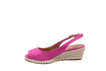 Load image into Gallery viewer, Hot Pink, Suede Wedges