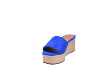 Load image into Gallery viewer, Deep Blue Suede Shoes