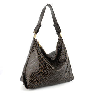 Pre-Order Luz da Lua - Medium Shoulder Bag 6358 - Vibora/Saara