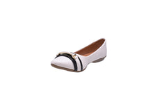 Load image into Gallery viewer, Pearl and Black Ballerina Flats