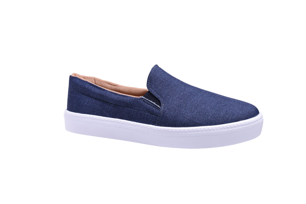 Blue-Jean, Slip On Sneakers