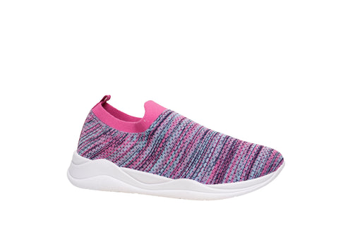 *NEW* Multicolor Pink Slip-on Sneakers