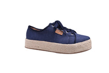 Load image into Gallery viewer, Blue-Jean, Platform Sneakers