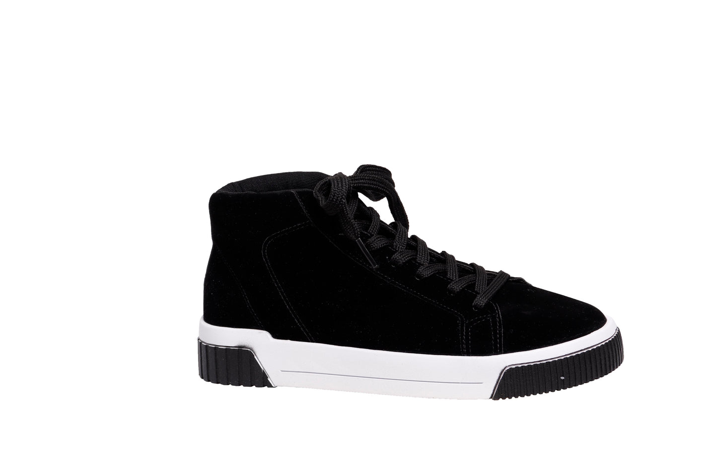 *NEW* Black Suede High-top Sneakers