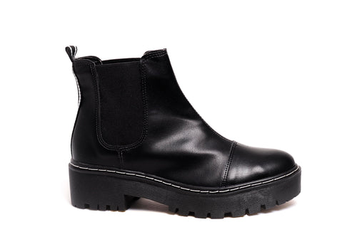 *NEW* Black Napa Chelsea Boots