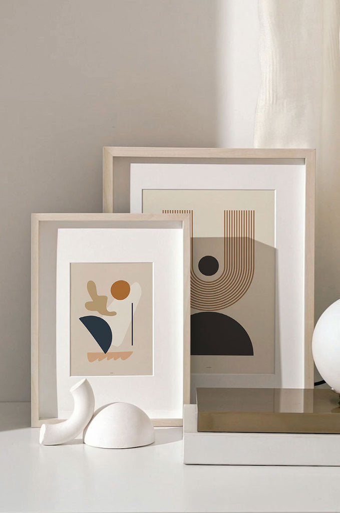 Abstract Geometric & Midcentury Modern