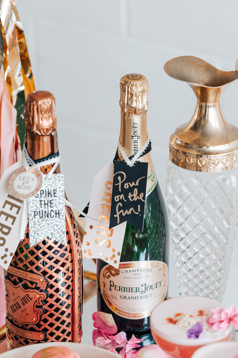 Wine & Champagne Tags
