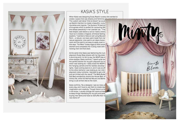 Minty Magazine Australia Nursery Interior Decor Wall Art Prints Posters Children Kids Room