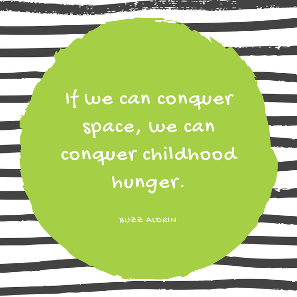 Buzz Aldrin Hunger Quote