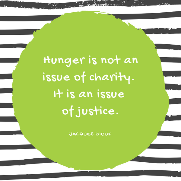Jacques Diouf Hunger Quote