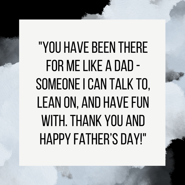 Father's Day Card Message | Like a Dad