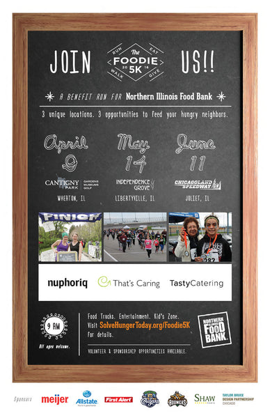 Foodie 5K 2016 - That's Caring | nuphoriq | Tasty Catering