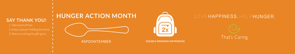 Hunger Action Month | Double Weekend Difference