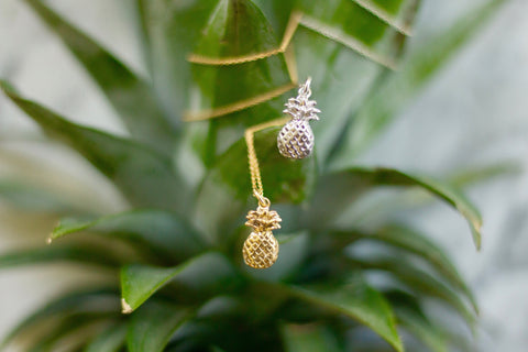 Delicacies Jewelry Pineapple Necklace Gift That Gives Back