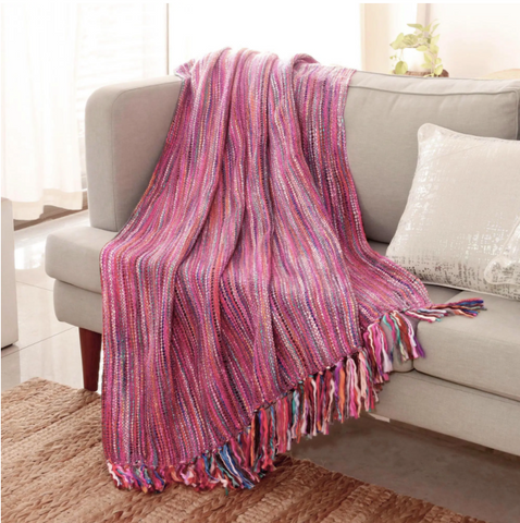 Throw Blanket That Gives Back
