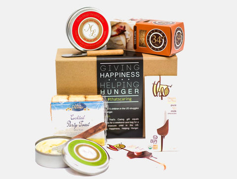 Cheese, Crackers and Chocolate Gift that Gives Back