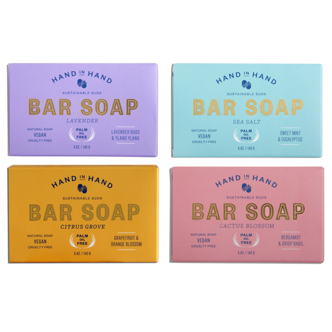 4 Pack of Bar Soaps That Give Back