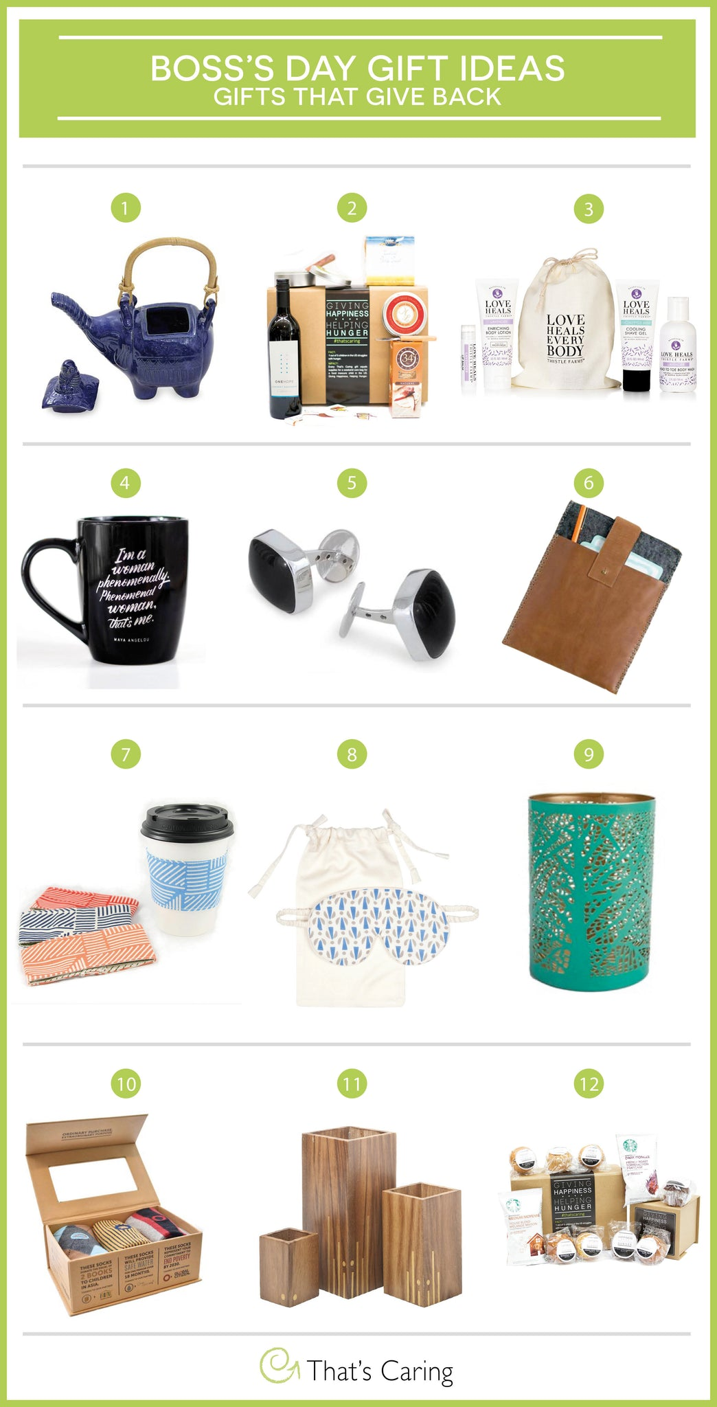 boss s day gift ideas the give back that s caring