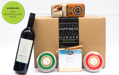 Cheese, Crackers & ONEHOPE Wine Gift Box | That's Caring Gifts