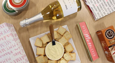 Mother's Day | Cheese, Crackers & ONEHOPE Wine Gift Box