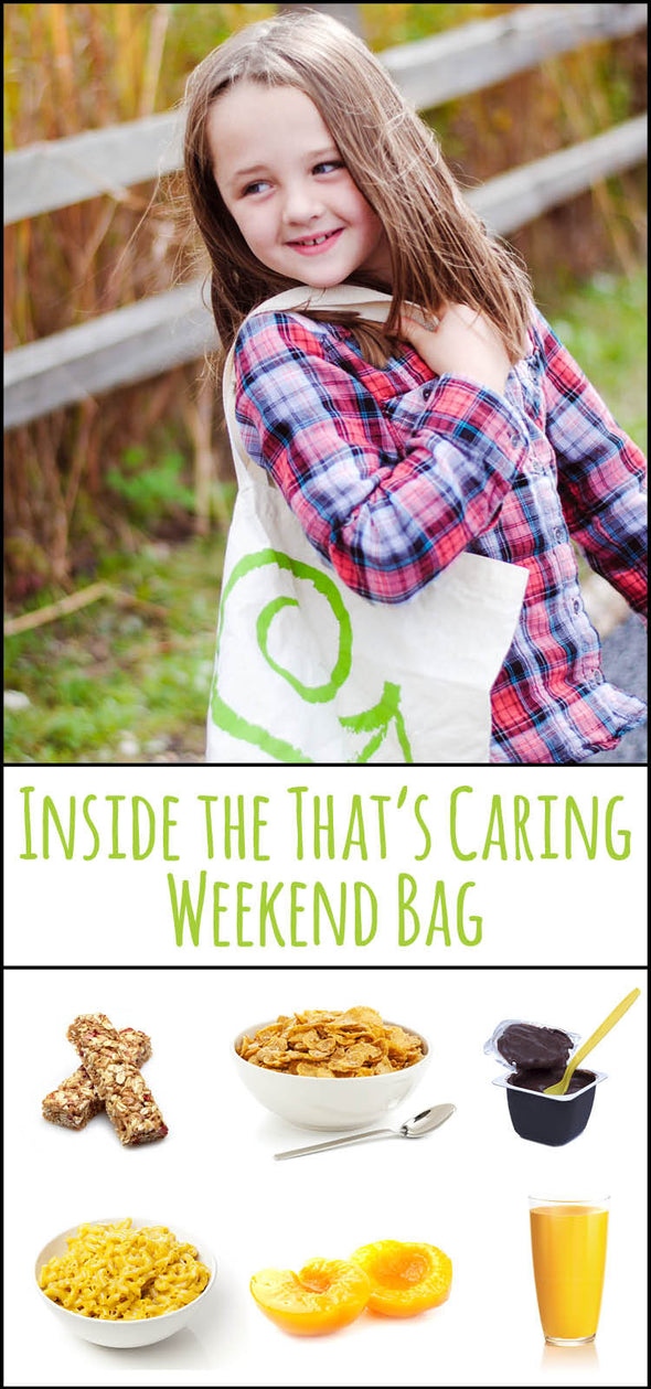 Donate Weekend Bag Supplies