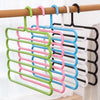 587 5 in 1 Multipurpose Plastic Hanger, Assorted (5-Layer)