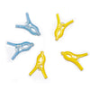 332_Cloth Hanging Non Slip Clips Cloth Clip (Pack of 12 Pc) Multi Colour