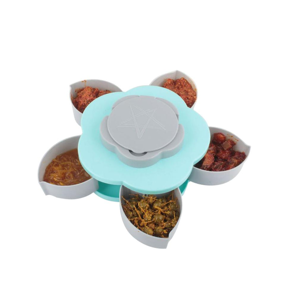 706 Smart ; Candy Box Serving Rotating Tray Spice Storage (SMALL)