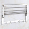 314_Bathroom Accessories Stainless Steel Folding Towel Rack