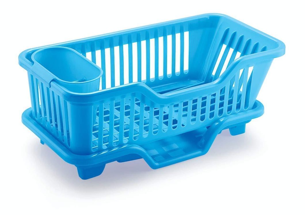 607 Plastic Sink Dish Drainer Drying Rack