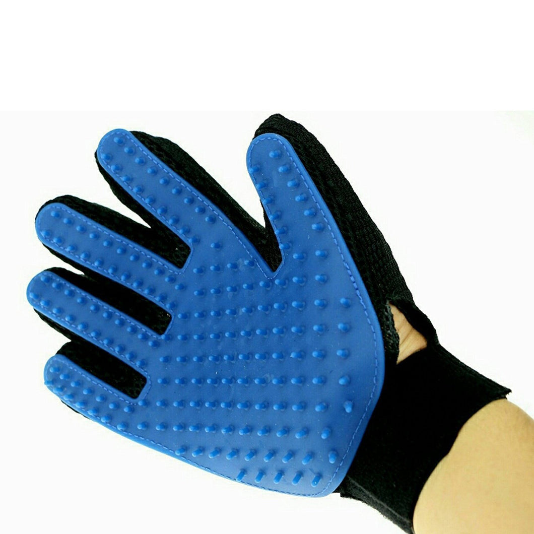 614 True Touch 5 Finger Deshedding Glove (1 pair)