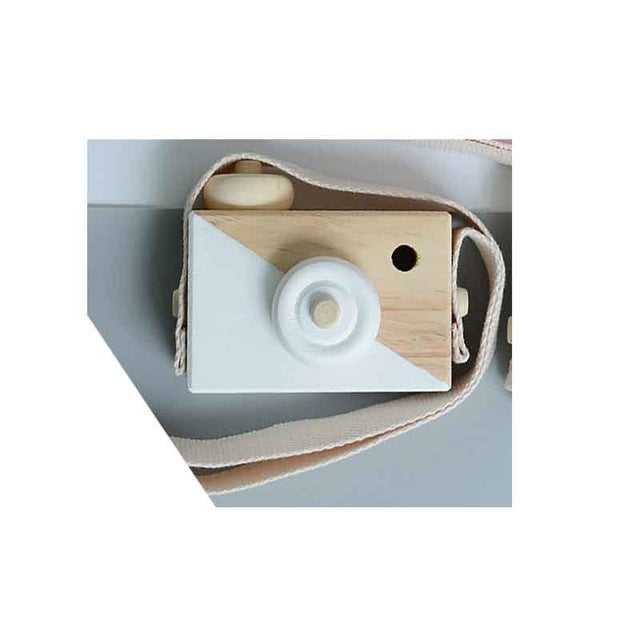 Hanging Wooden Camera Toy