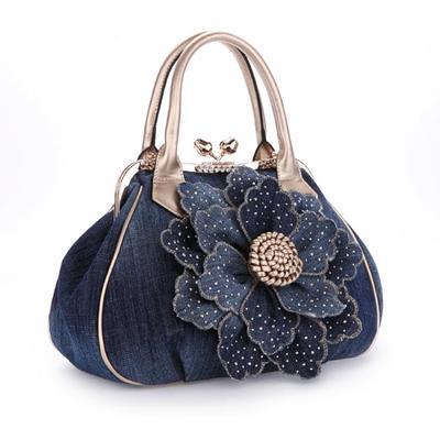 3D denim Bag