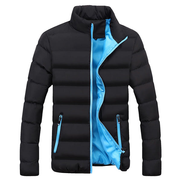 Windbreakers Solid winter jacket