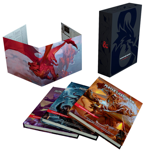 Dungeons & Dragons 5e Core Rules Gift Set