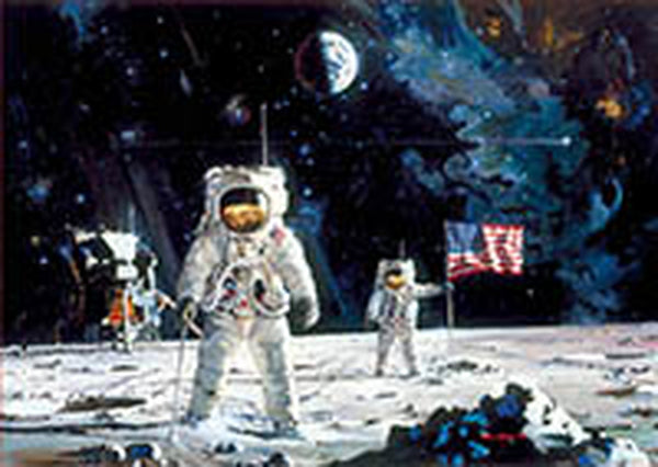1000 First Man on the Moon
