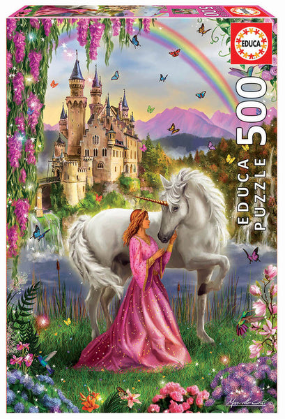500 Fairy and Unicorn