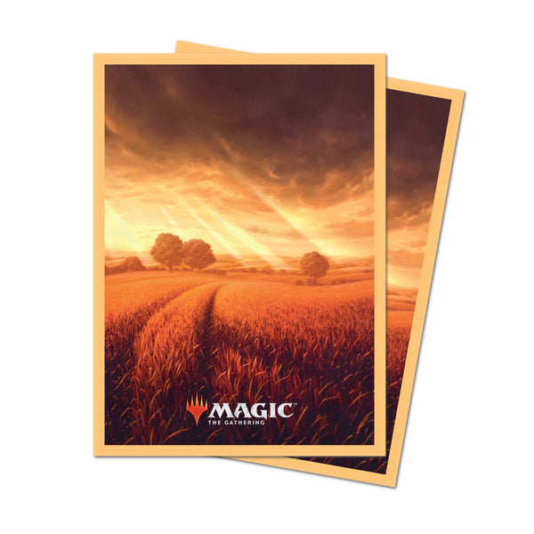 MtG Sleeves Unstable Land Plains (100)