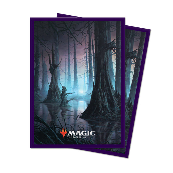MtG Sleeves Unstable Land Swamp (100)
