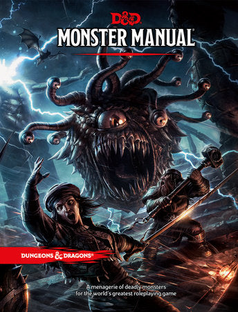 Dungeons & Dragons 5e Monster Manual