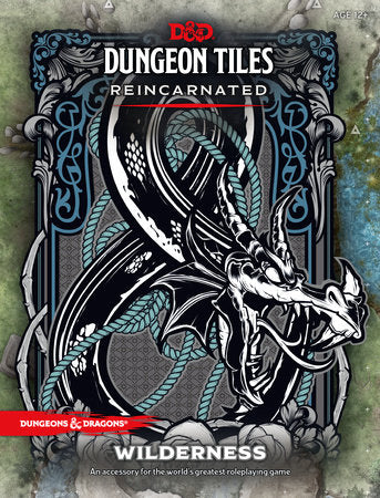 Dungeons & Dragons 5e Dungeon Tiles: Wilderness
