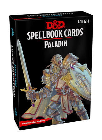 Dungeons & Dragons 5e Spellbook Cards: Paladin