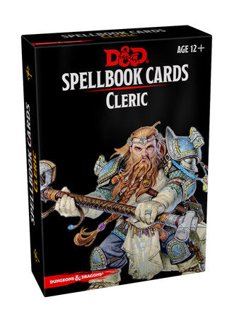 Dungeons & Dragons 5e Spellbook Cards: Cleric