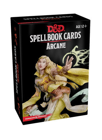 Dungeons & Dragons 5e Spellbook Cards: Arcane