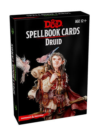 Dungeons & Dragons 5e Spellbook Cards: Druid