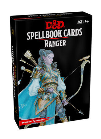 Dungeons & Dragons 5e Spellbook Cards: Ranger