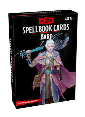Dungeons & Dragons 5e Spellbook Cards: Bard