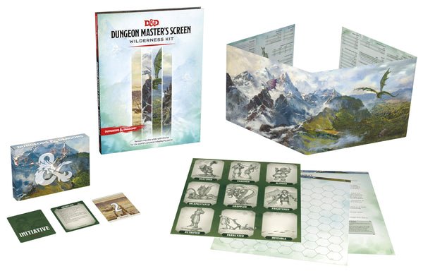 Dungeons & Dragons 5e Dungeon Master's Screen Wilderness Kit