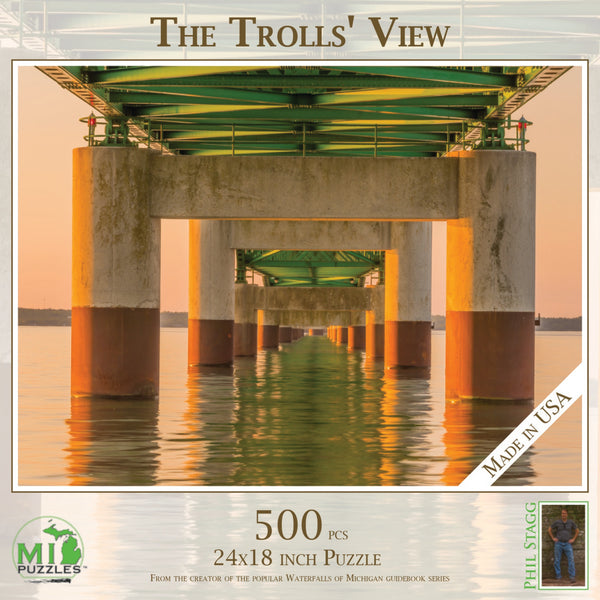 500 Trolls' View Mackinac Bridge